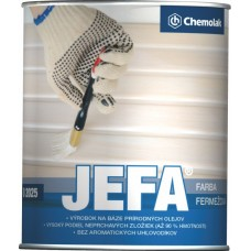 JEFA O 2025 farba fermežová