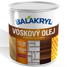 Balakryl voskový olej 0,75l